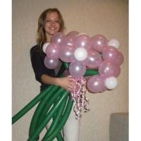 """Букет из воздушных шаров """"Цветы №2"""""""