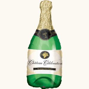 """Фольгированный шар """"Бутылка шампанского"""""""
