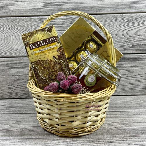Подарочная корзина «Медовый десерт»