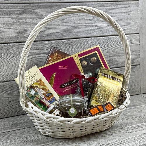 Подарочная корзина «Подарок учителю»