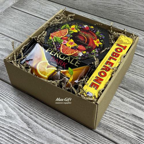 Подарочный набор «Апельсин в шоколаде»