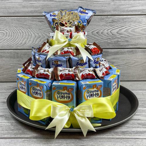 """Детский торт """"С Днём Рождения!"""""""