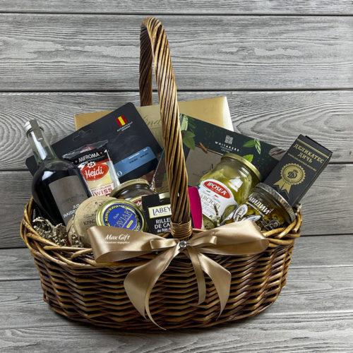 Подарочная корзина «Деликатеска»