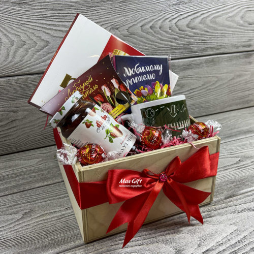 Подарочный набор «Благодарность учителю»