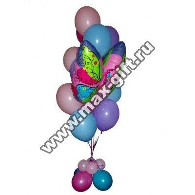 """Букет из воздушных шаров """"Бабочка"""""""