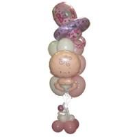 """Букет из воздушных шаров """"С Рождением Девочки!"""""""