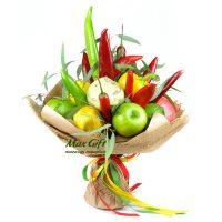 """Букет из фруктов и овощей """"Pepper"""""""