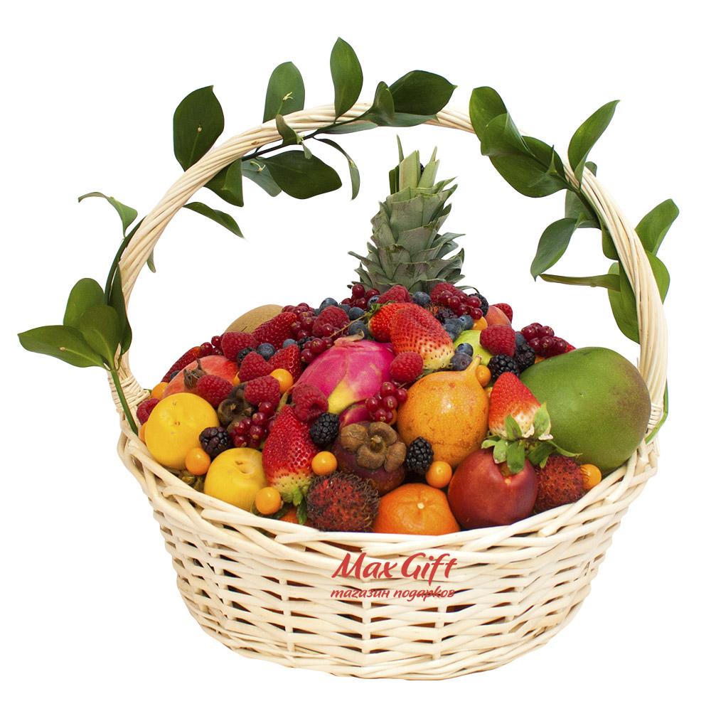 Корзины с фруктами в подарок 76