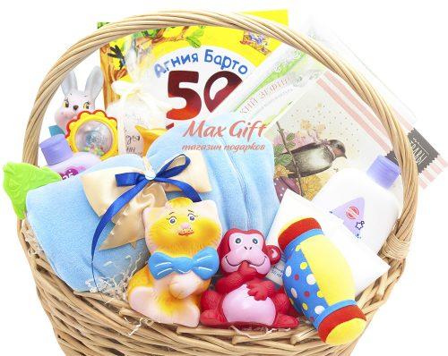 Подарочная корзина «С Новорожденным»