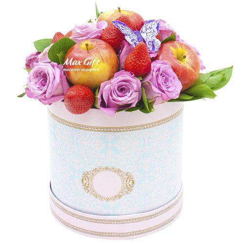 Фруктовая композиция с цветами «Валенсия»