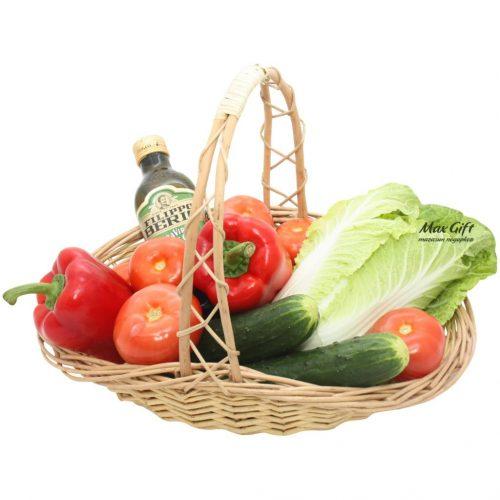 """Подарочная корзина """"Вегетарианская"""""""