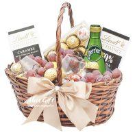 Подарочная корзина с фруктами «Подарок мужчине»
