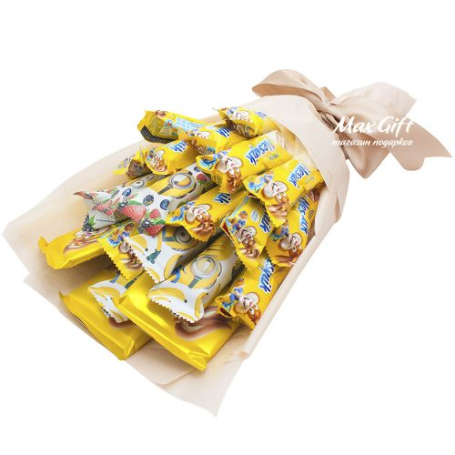 Букет из конфет «Солнечный зайчик»