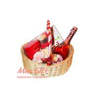 "Подарочная корзина ""Martini rose"