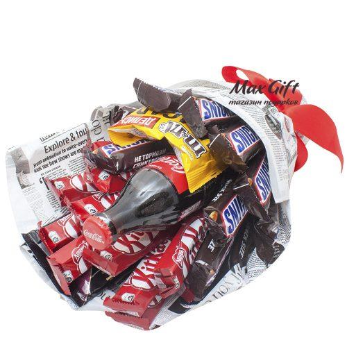 Букет из конфет «Coca-Cola»