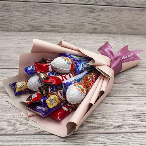 Букет из конфет Лакомка