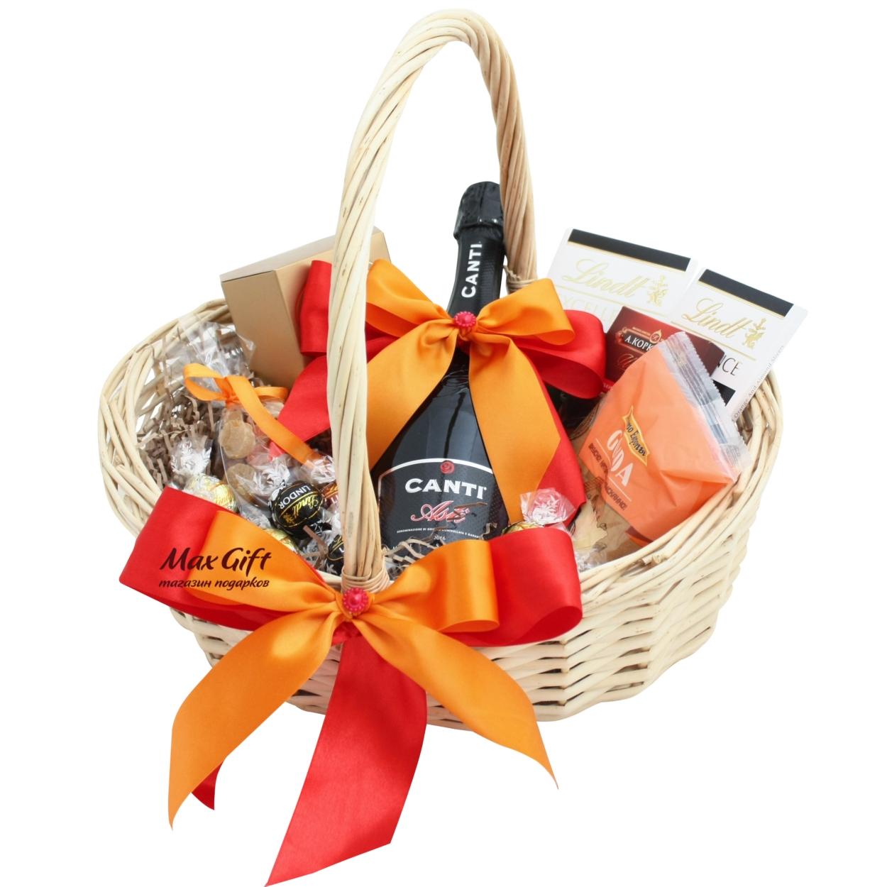 Подарочная корзина «Оранжевое лето»