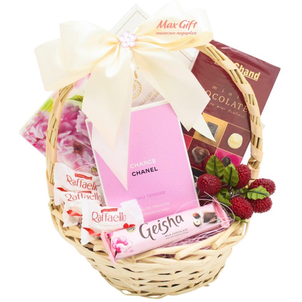 Подарочные корзины для женщин на день рождения своими руками