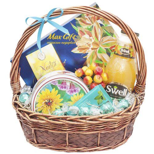 Подарочная корзина «Солнечное настроение»