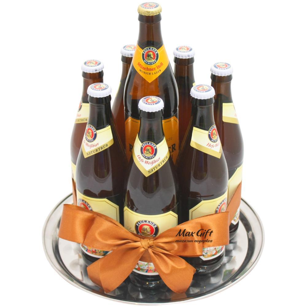 Как сделать подарок из бутылок пива 64