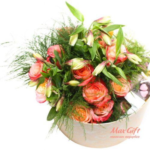 """Подарочный набор с цветами """"Для нее"""""""