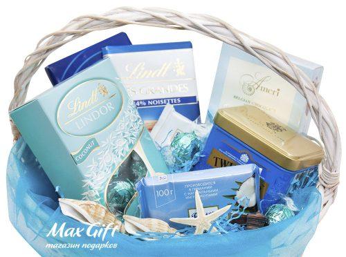 Подарочная корзина «Морское дно»