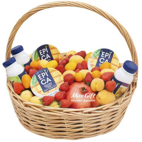 Подарочная корзина с фруктами «Epica»