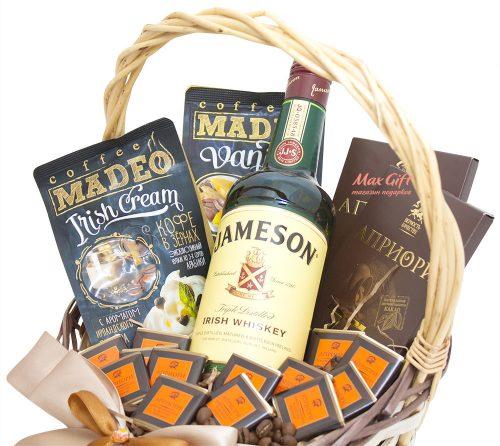 """Подарочная корзина """"Jameson"""""""