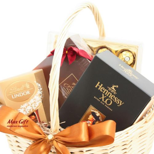 """Подарочная корзина """"Hennessy XO"""""""