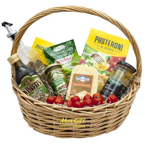 Подарочная корзина с овощами «Италия»
