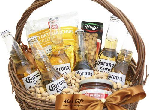 """Подарочная корзина """"Corona Extra"""""""