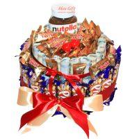 "Торт из конфет и денег ""Nutella"""