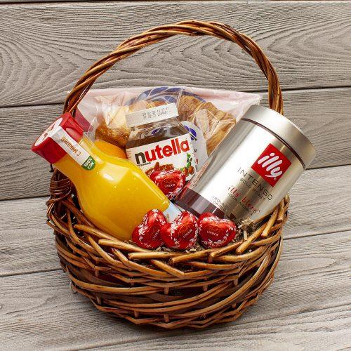 Подарочная корзина «Романтический завтрак»