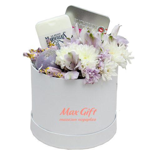 Подарочный набор с цветами «Римини»
