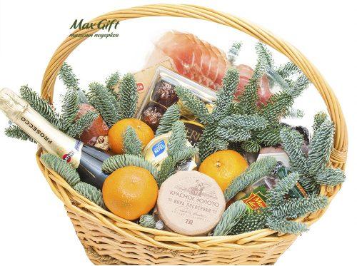 Подарочная корзина «Новогодний лес»