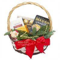 Подарочная корзина «Новогодний символ»