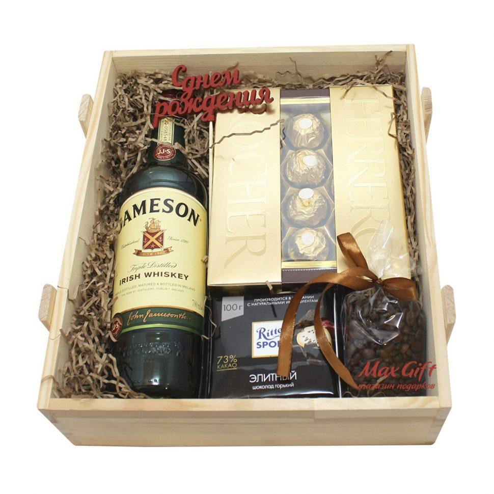 Подарочная коробка для виски своими руками 23