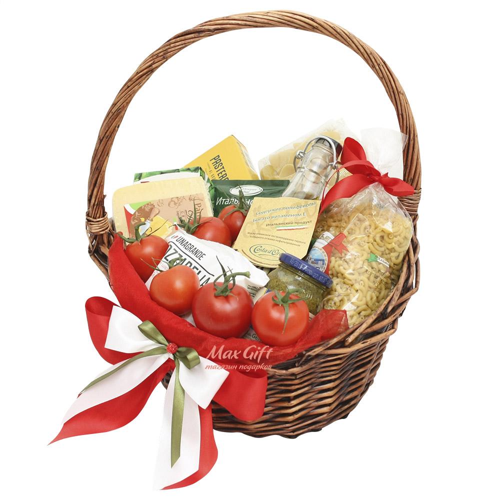 Как собрать продуктовую корзину в подарок 34