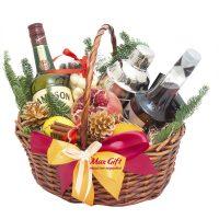 Подарочная корзина с фруктами «Патимейкер»