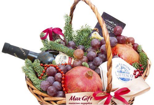 Подарочная корзина с фруктами «Грузиночка»