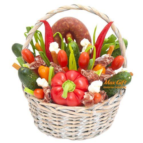 Композиция из овощей «Объедение»
