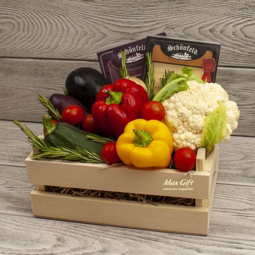 Подарочный набор с овощами «Светофор»