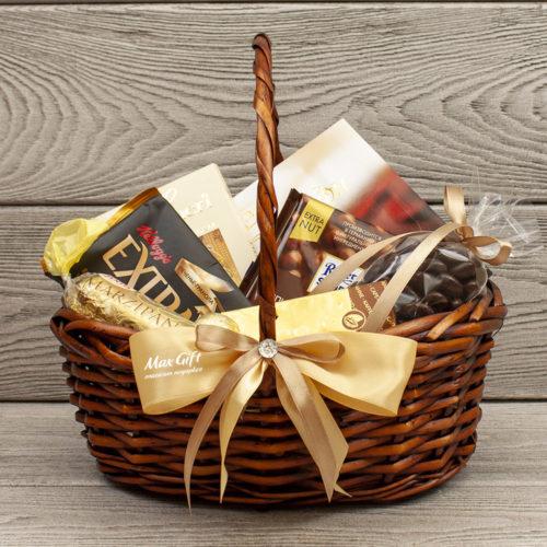 Подарочная корзина «Шоколадка»