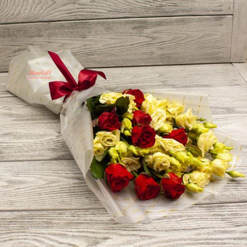 Букет из цветов «Сафира»