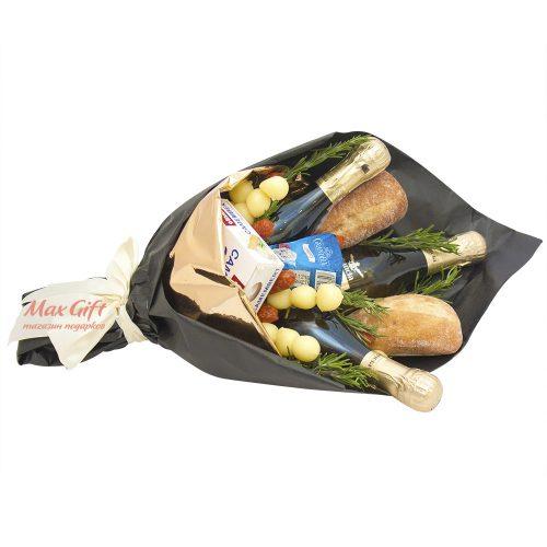Букет с колбасой и сыром «Perlini»