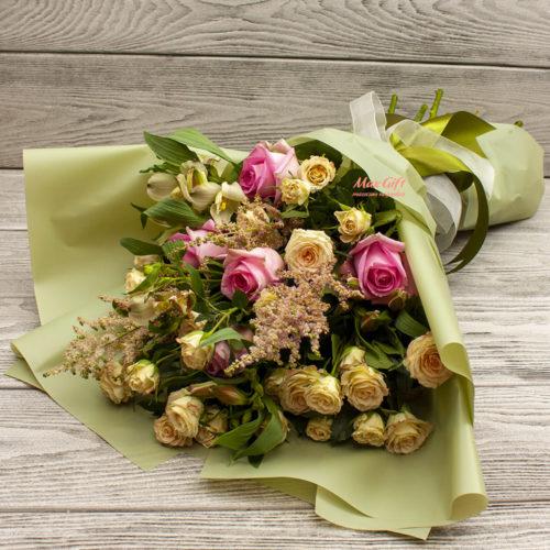 Букет из цветов «Пелагея»