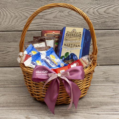 Подарочная корзина «Горячий шоколад»