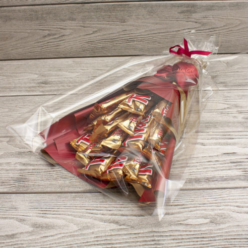Букет из конфет «Twix»