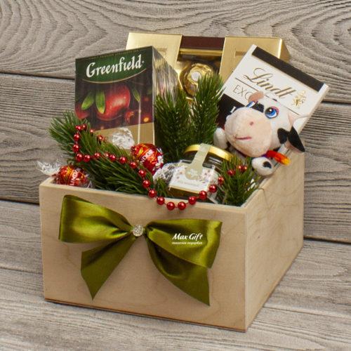 Подарочный набор «Новогодний бычок»