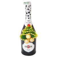 """Подарочная бутылочка """"С Новым годом!"""""""